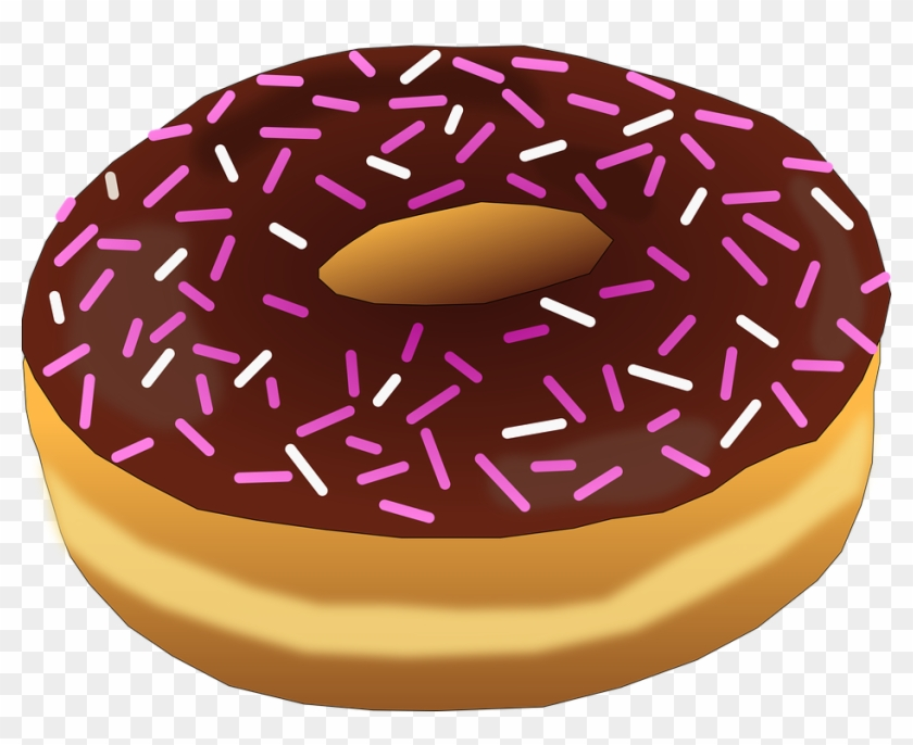 Various no , doughnut with sprinkles transparent background PNG clipart |  HiClipart