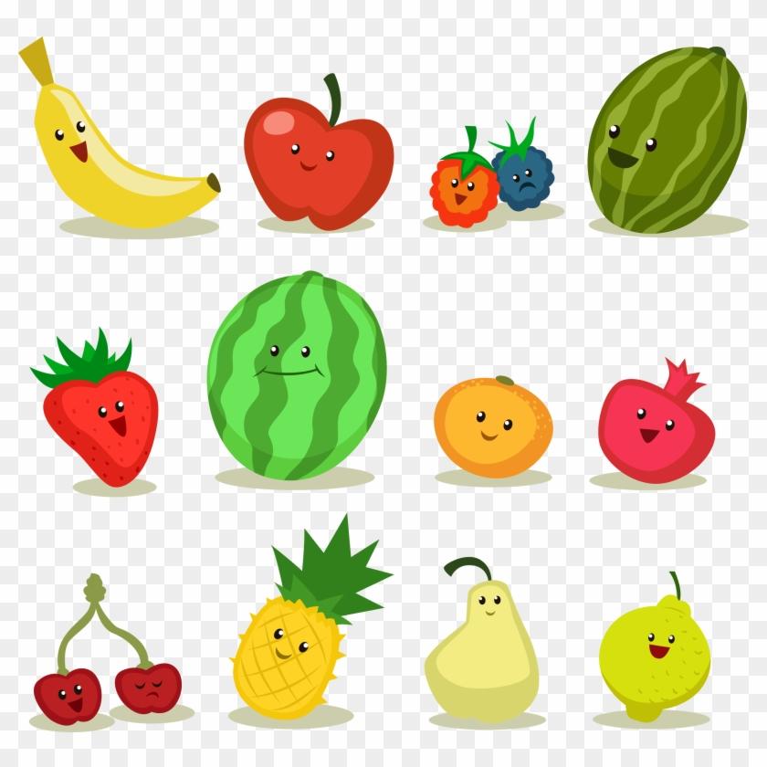 Fruit Apple Cartoon Frutas Desenho Png Free Transparent Png