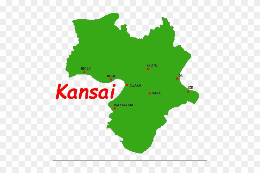 Kansai Map Icon - Mapa Brasil Verde - Free Transparent PNG ...