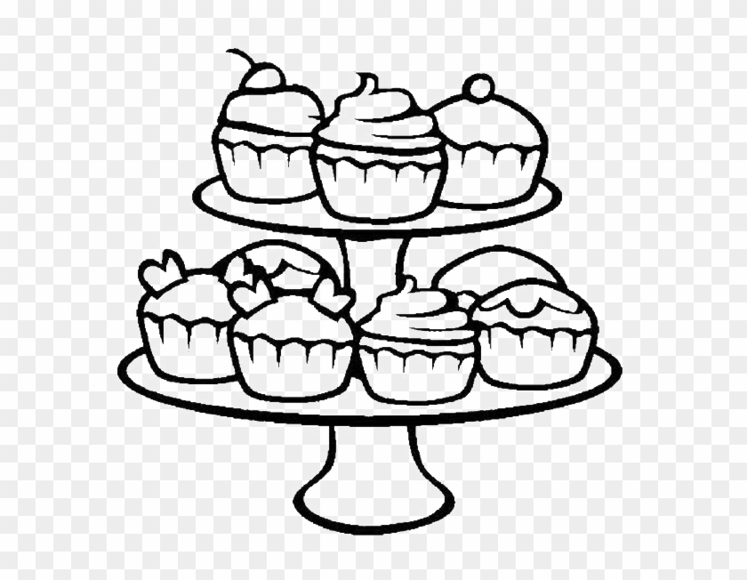 Cupcake Coloring Pages A Wide Range Of Cupcake Coloring