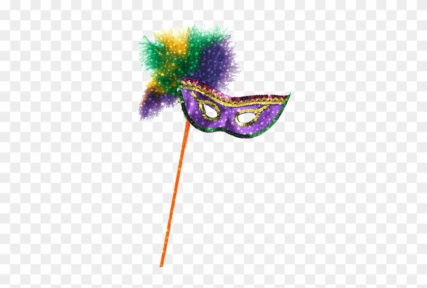 A Good Library Needs Good Friends - Mardi Gras Mask Transparent #1181520
