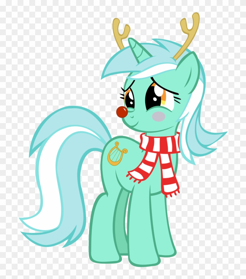 Antlers, Christmas, Clothes, Hearth's Warming Eve, - My Little Pony Lyra Christmas #1181788