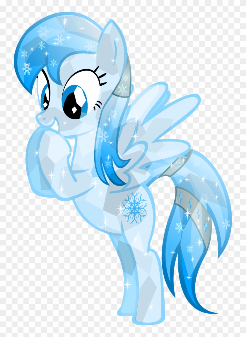 Crystal Frozen Snowflake By Vector-brony - My Little Pony Crystal Ponys #1182176