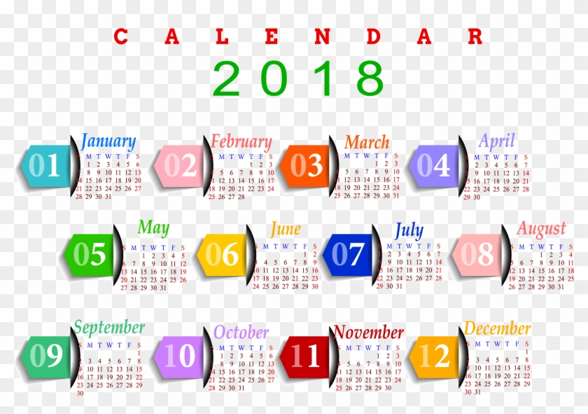year 2018 calendar india 2018 calendar png download 1182585
