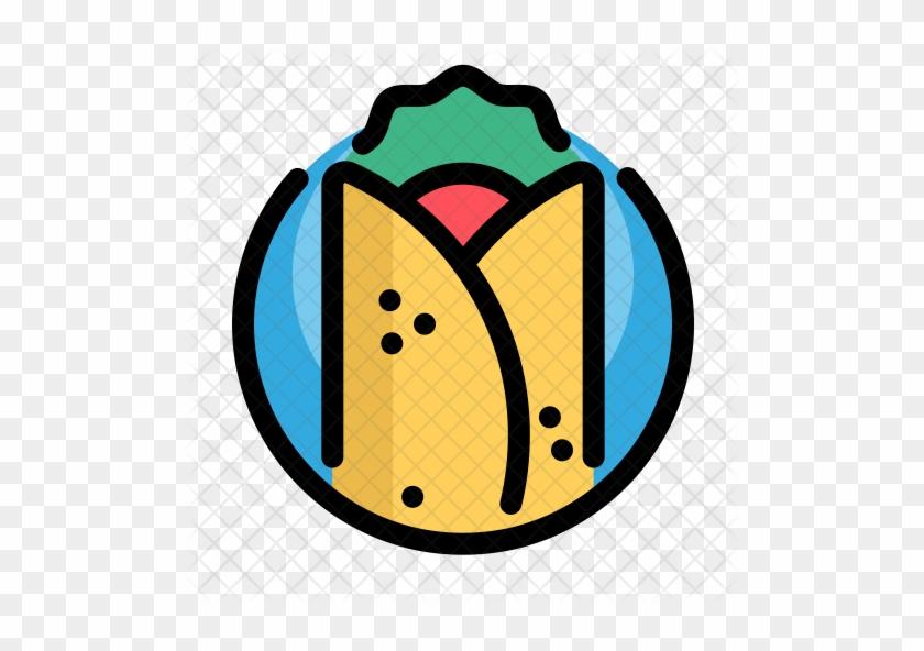 Burritos Icon - Fast Food Icons #1183668