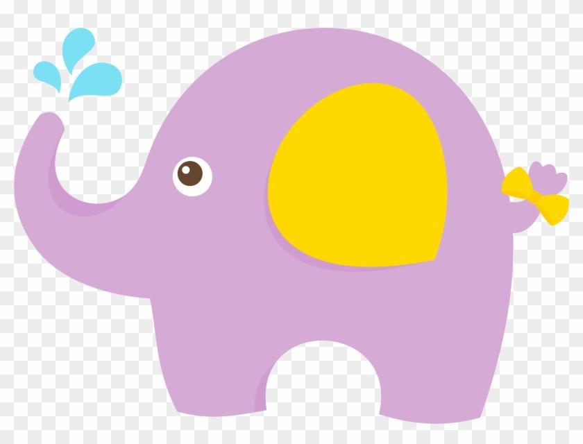 Elefante Bebe Para Baby Shower Png Rosarito - Minus Elephant #1183915