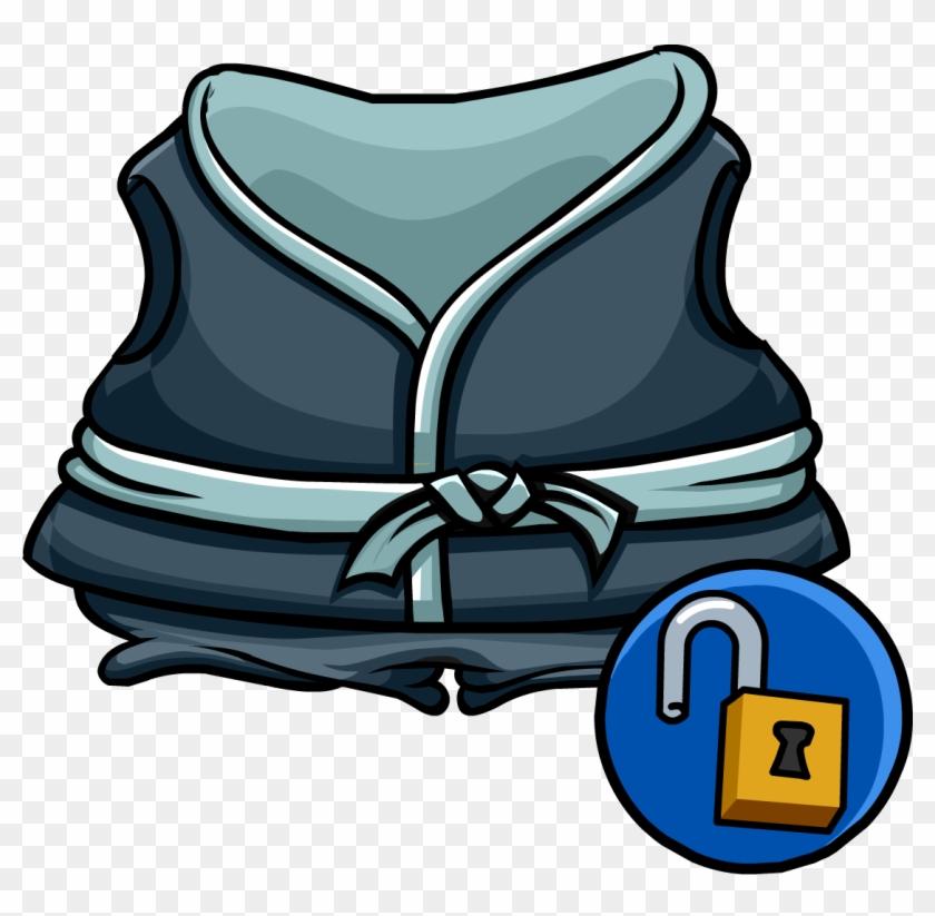 Crashing Wave Gi - Club Penguin Wiki Wikia Robes #1183914