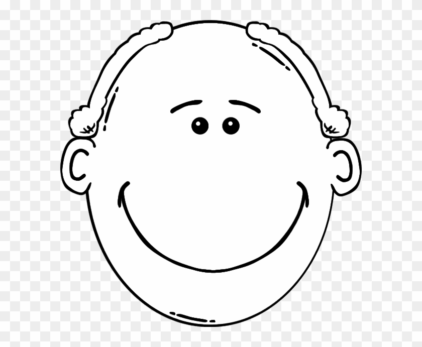 Man Clipart Father Face - Cartoon Man Face #1184163