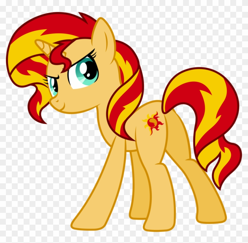 Coloring Pages Of My Little Pony Friendship Is Magic Sunset Shimmer Pony Version Free Transparent Png Clipart Images Download