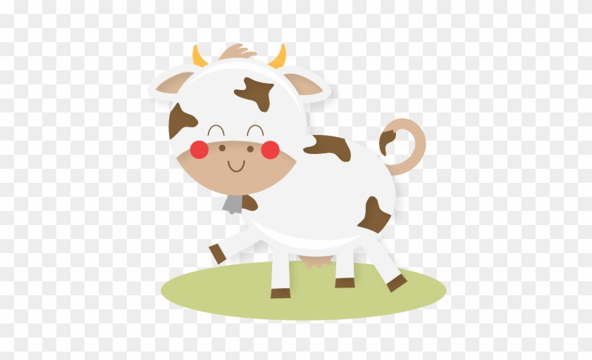Farm Cow Svg Cut Files Farm Animals Svg Cutting Files - Cute Farm Animals Png #193259