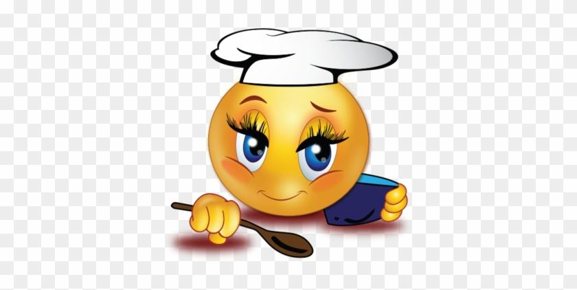 Chef Cook Girl - Queen Smiley #193400