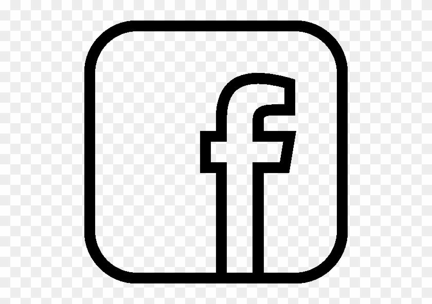 Logo Facebook White Png #193435