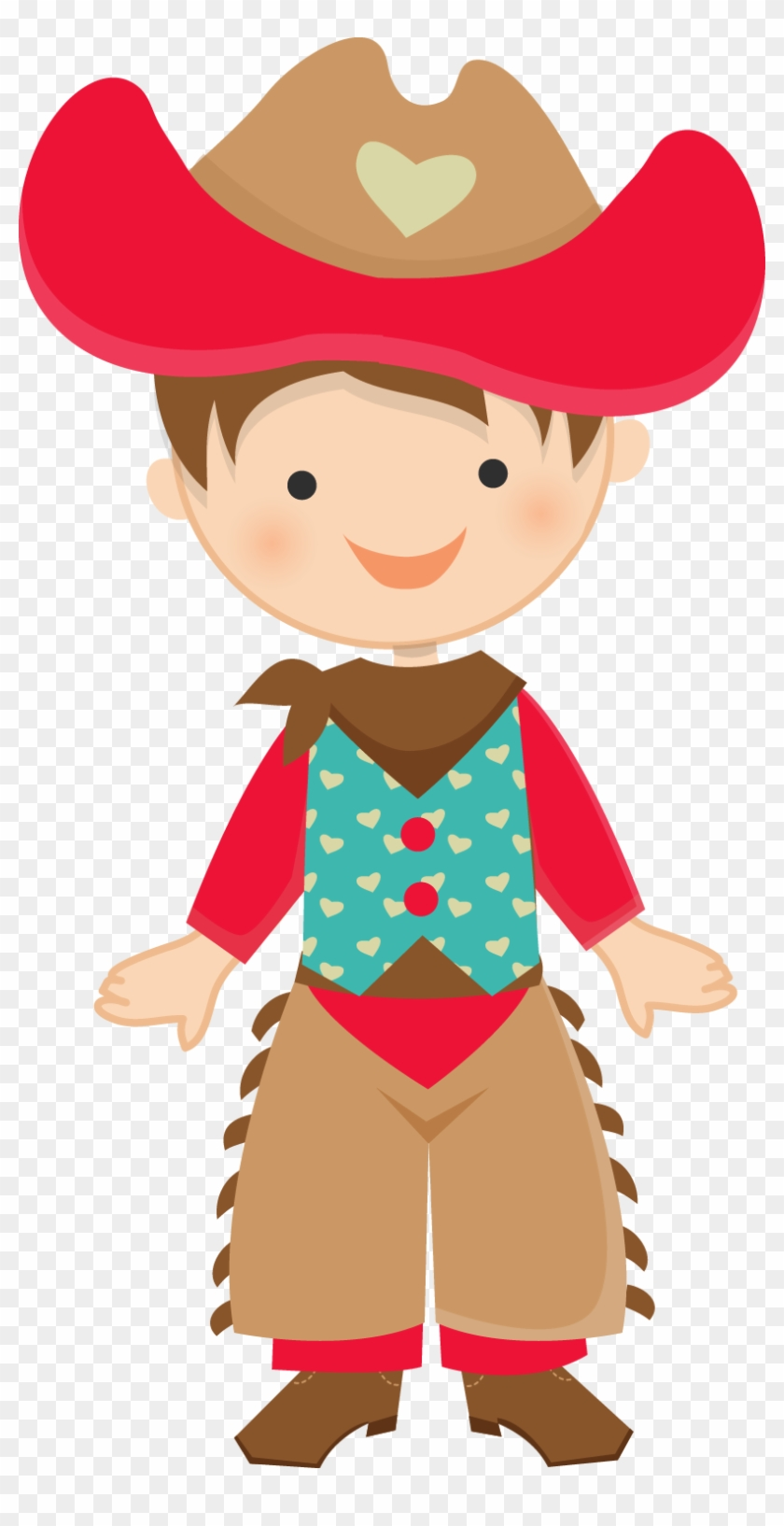 Little Cowboy Clipart #193700