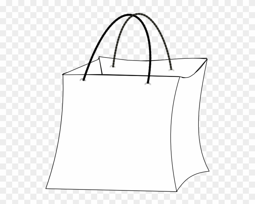 Gift Bag Outline Clip Art - Sale Graphic Png White - Free ...