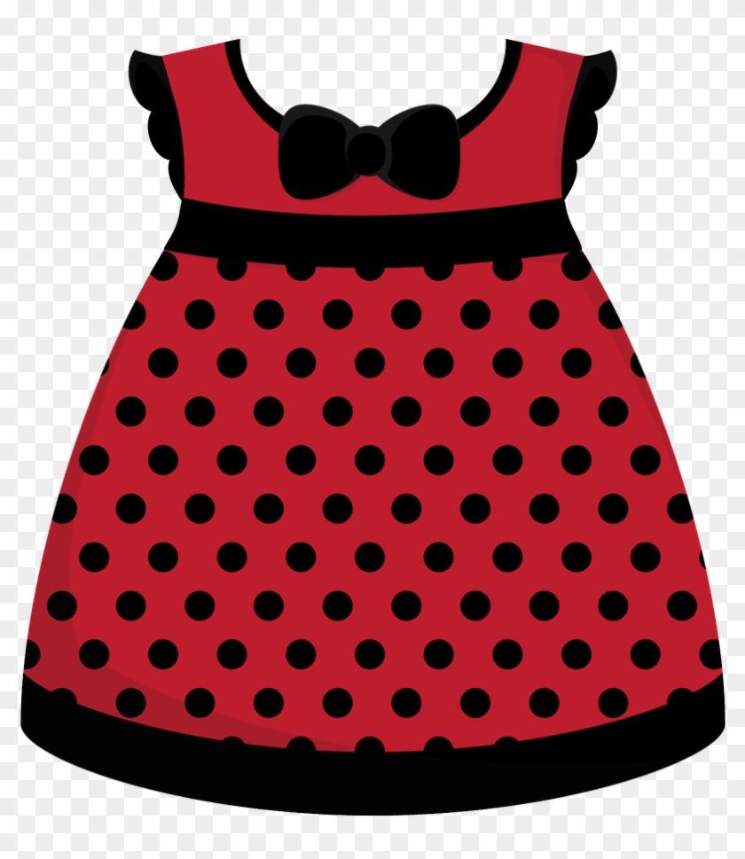 Clip Art - Little Girl Dress Clipart #193899