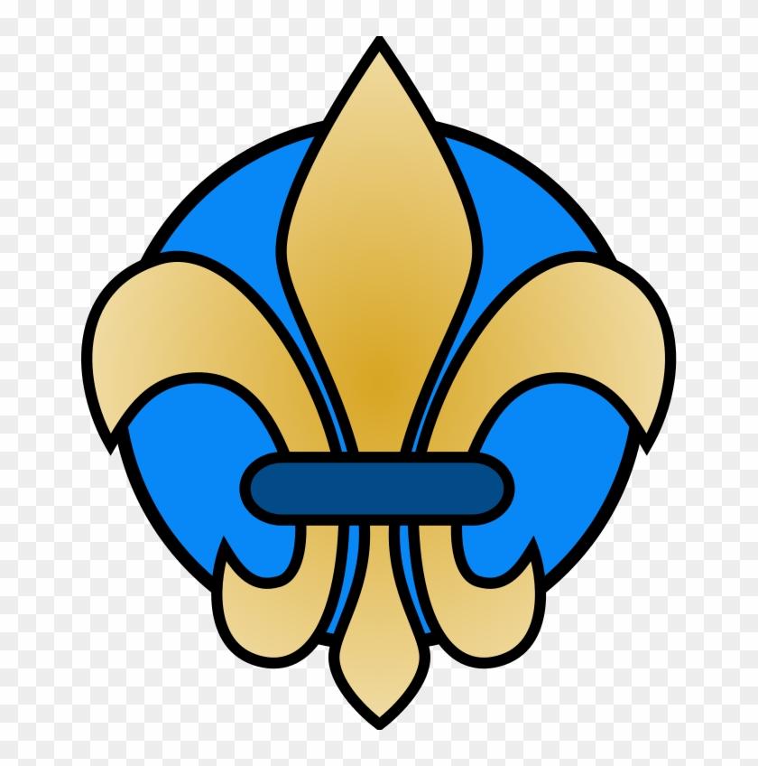 Fleur De Lis Template - Fleur De Lis Clip Art #194022