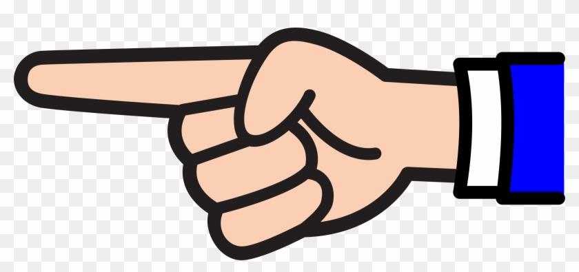Image result for back pointing finger clipart
