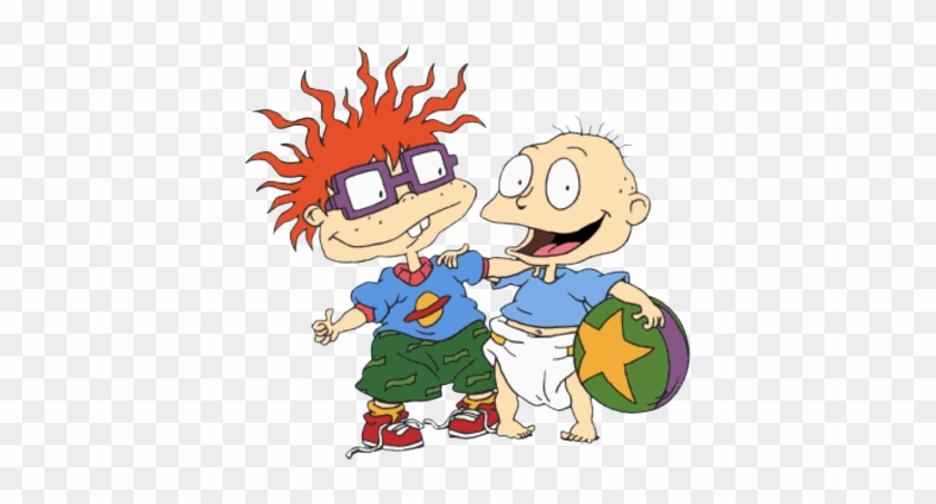 Tommy And Chuckie Rugrats Free Transparent Png Clipart Images Download