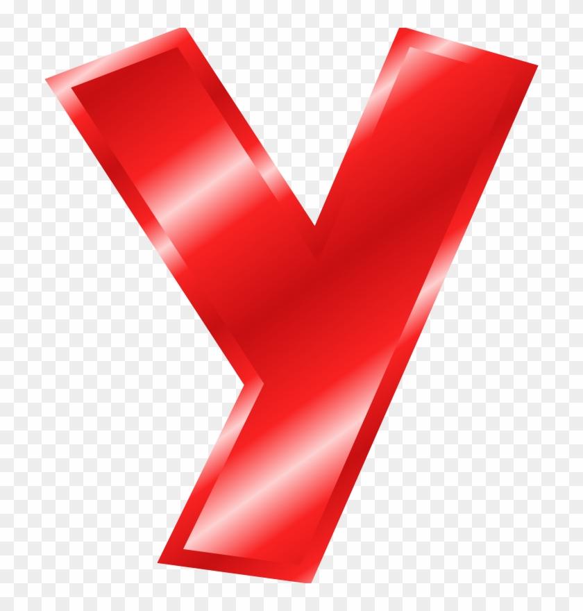 Alphabet Clipart Download Big Red Letter Y Free Transparent Png