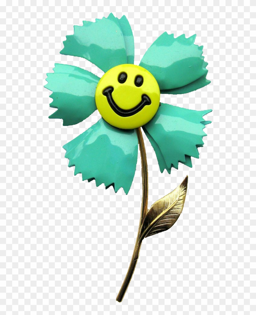 Smiley Face Flower Clipart - Flover Clipart Smiley #194253
