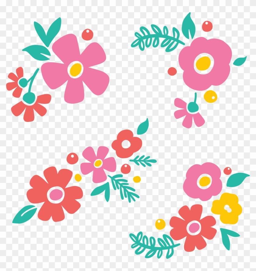 Floral Motifs Png - Flower Cut Files #194297