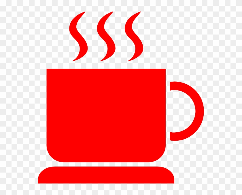 Red S Hot Java 2 Clip Art At Clker - Coffee Cup Clip Art #194379