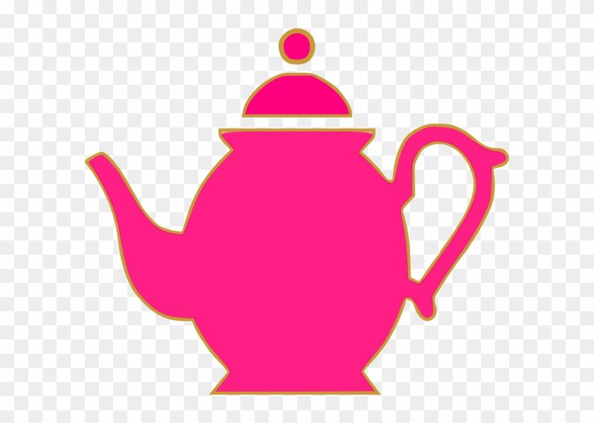 Teacup Clipart Cartoon Pink Tea Pot Clip Art Free Transparent