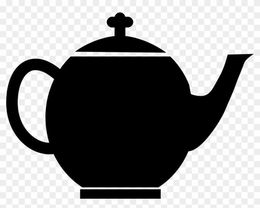 Kettle Clipart Tea And Coffee - Teapot Clip Art #194447