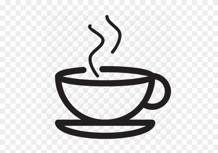 Steam Clipart Beverage - Coffee Cup Icon Png #194515