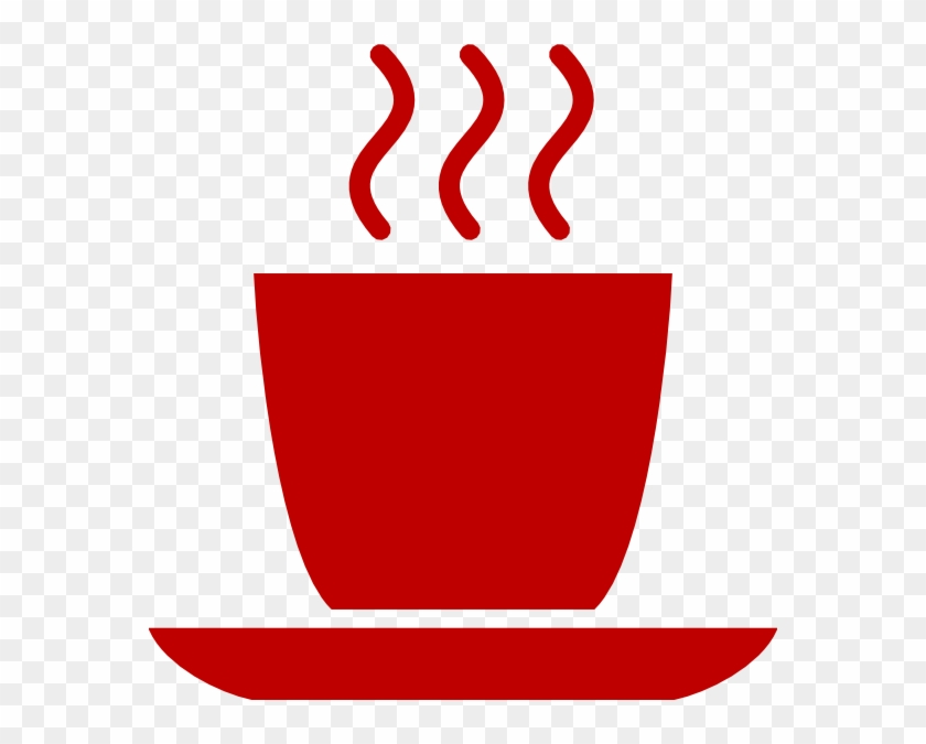 Red Coffee Cup Logo #194520