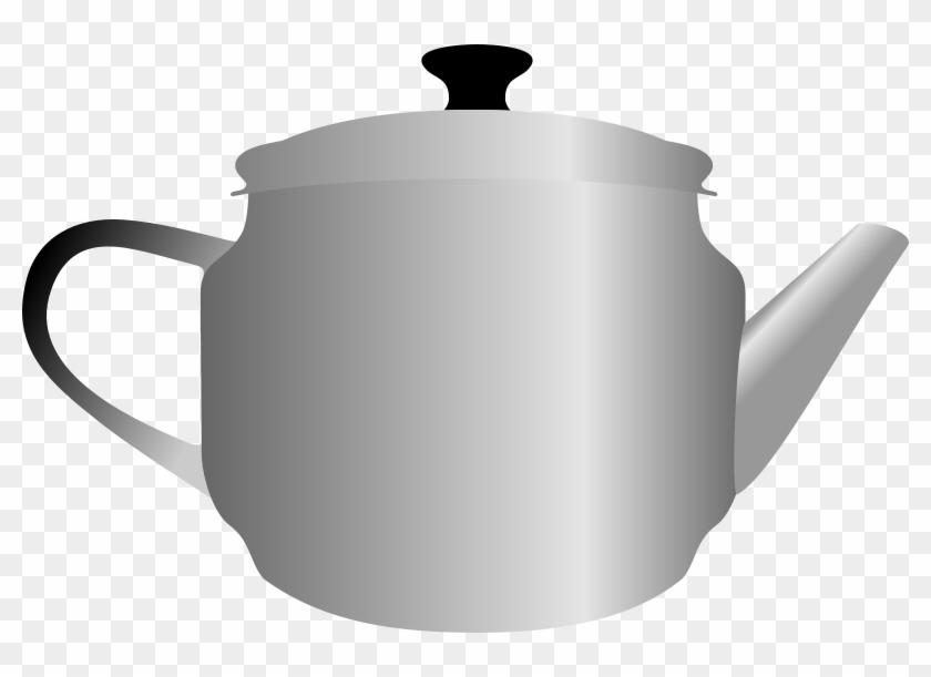 Teapot By Rones Png Images - Metal Tea Pot Png #194544