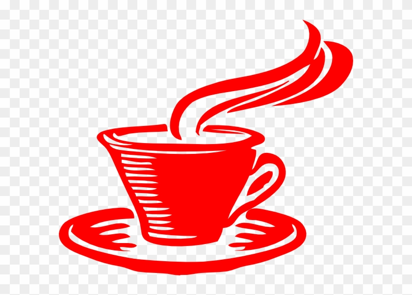 Star Coffee Clip Art - Red Coffee Cup Vector #194561
