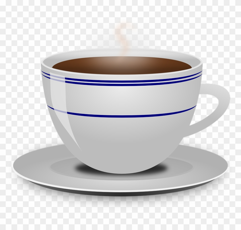 Coffee Clipart - Coffee Mug And Saucer #194589