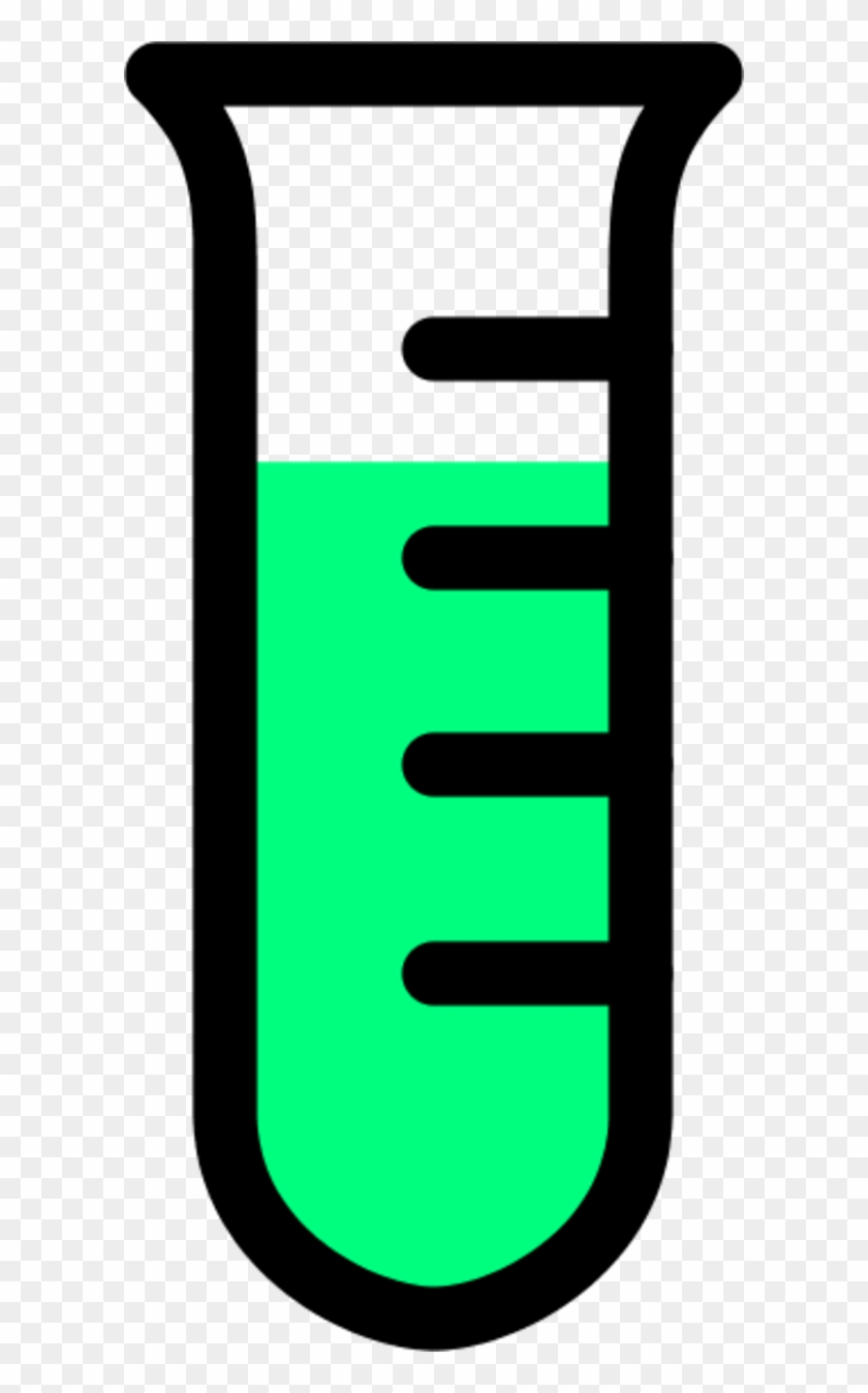 Glass Test Tube Chemical Laboratory Icon Clipart - Science Test Tube Clip Art #194671