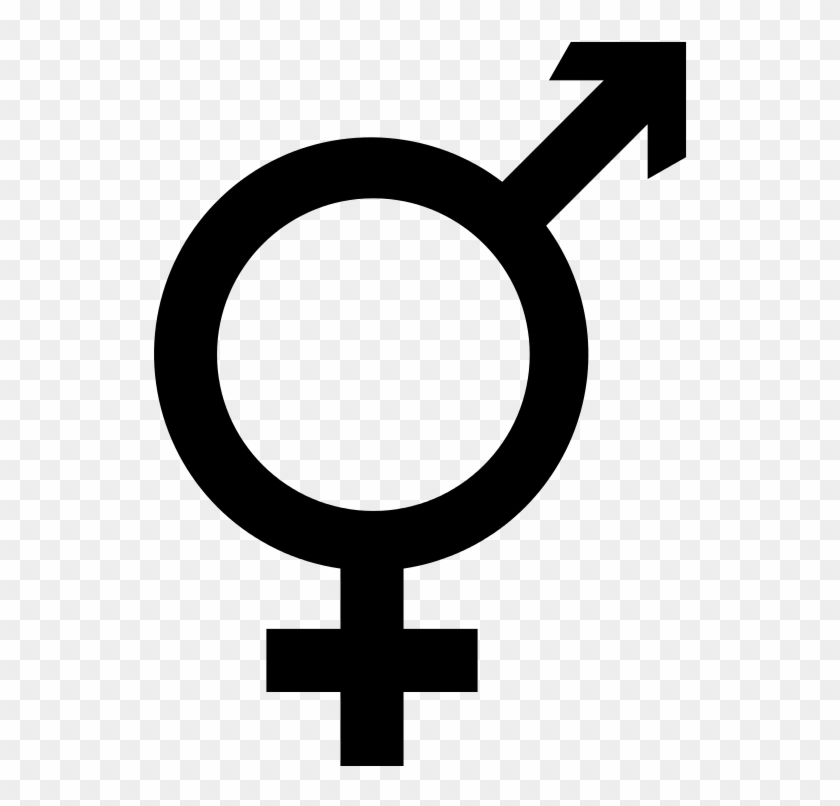 Intersex Male Female Symbol Combined Free Transparent Png