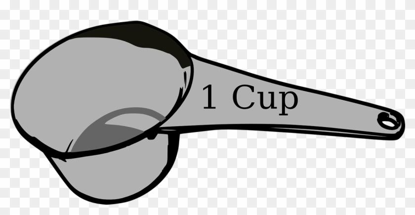 Https - 1 Cup Measuring Cup Clip Art #194754