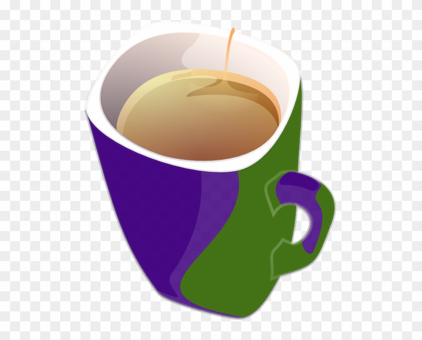 Purple Clipart Mug - Cup Of Tea Clipart #194774