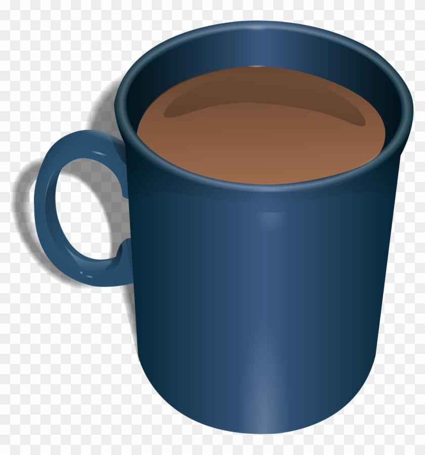 Big Image - Coffee In Blue Mug #194778