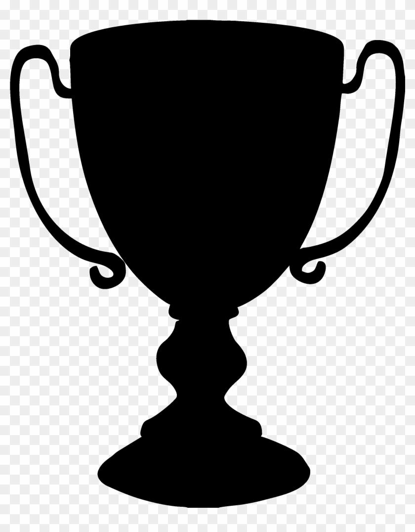 Trophy Clip Art - Trophy Clip Art Black And White #194790