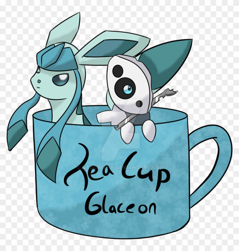 Tea Cup Glaceon By Dascreepy - Teacup #194793