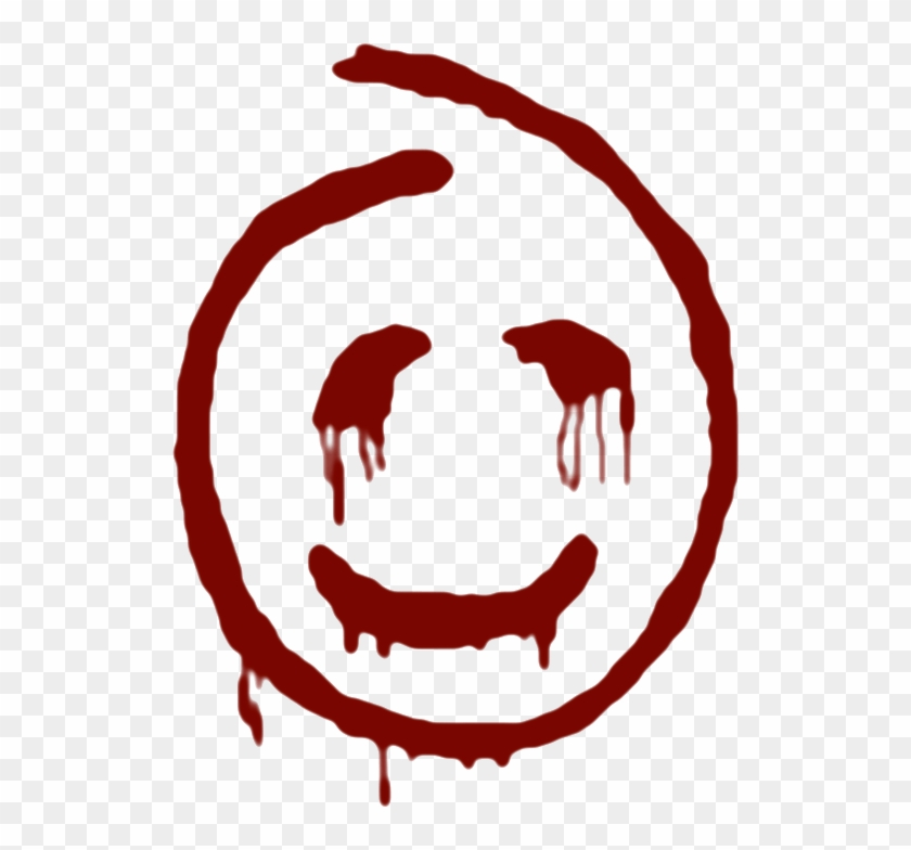 Red Smiley Face - Red John Smiley Face #194791