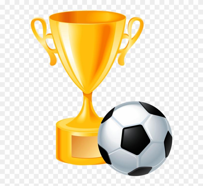 Free Soccer Clipart - Soccer Trophy Clip Art #194803
