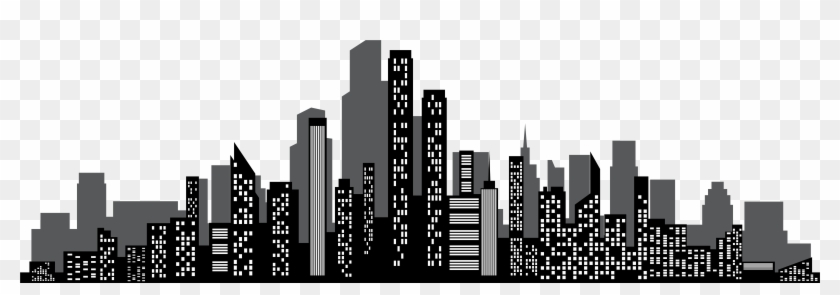 Cityscape Silhouette Png Clip - Cityscape Silhouette Png #194815