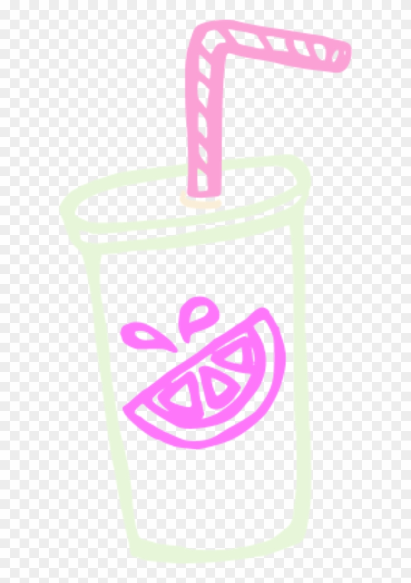 Cup Straw Clipart - Cup With Straw Png #194822