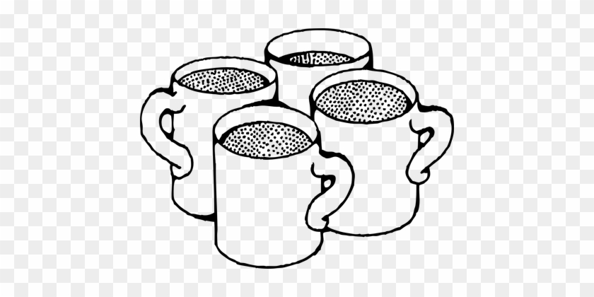 Coffee Mug, Mug, Cup, Tea Mug - Coffee Mug Clip Art #194837