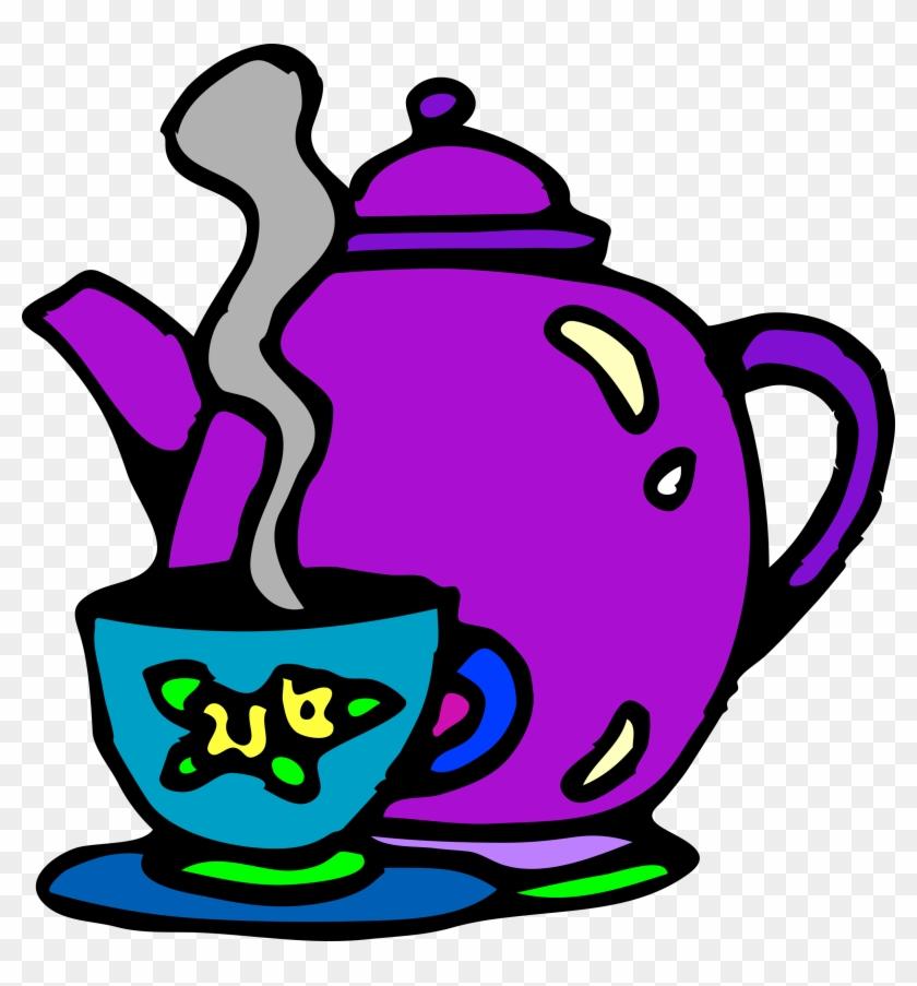Big Image - Tea Cup Clip Art #194839