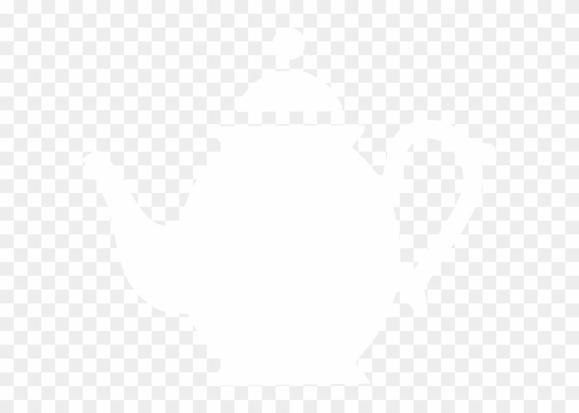 White Teapot Clip Art Png #194855