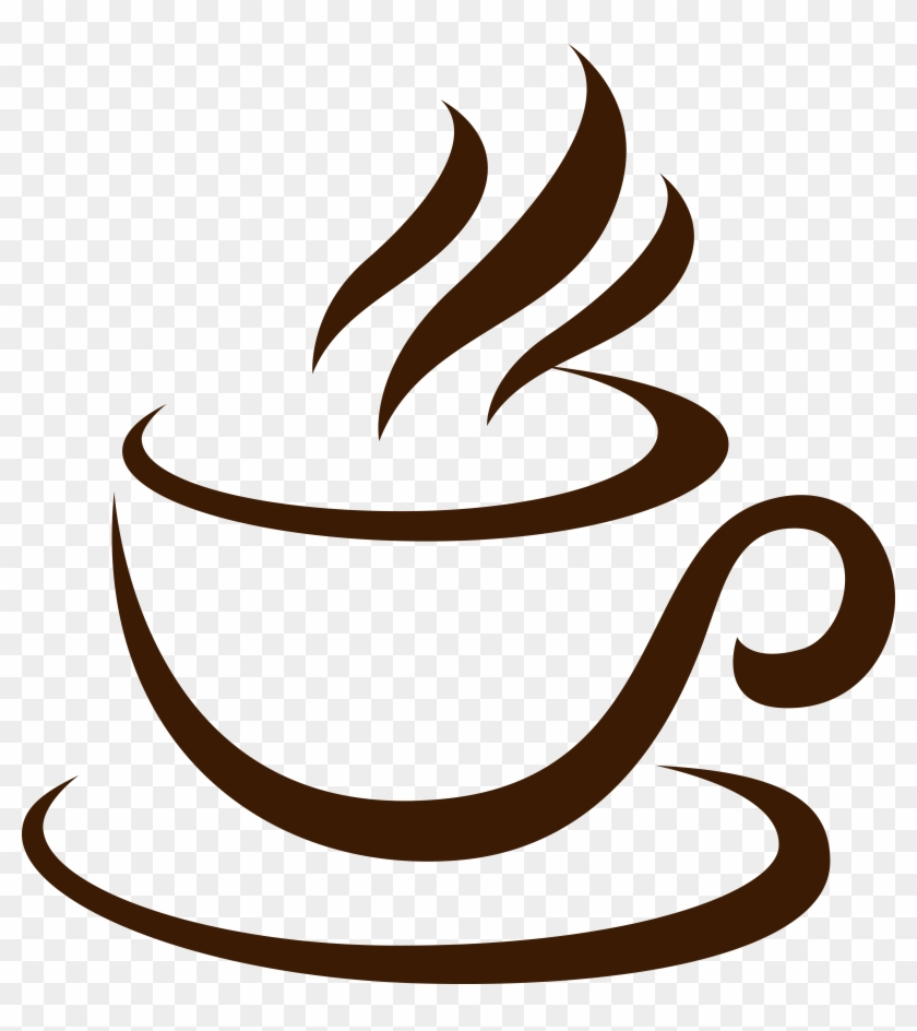 Coffee Cup Cappuccino Cafe - Hot Coffee Vector Png #194874