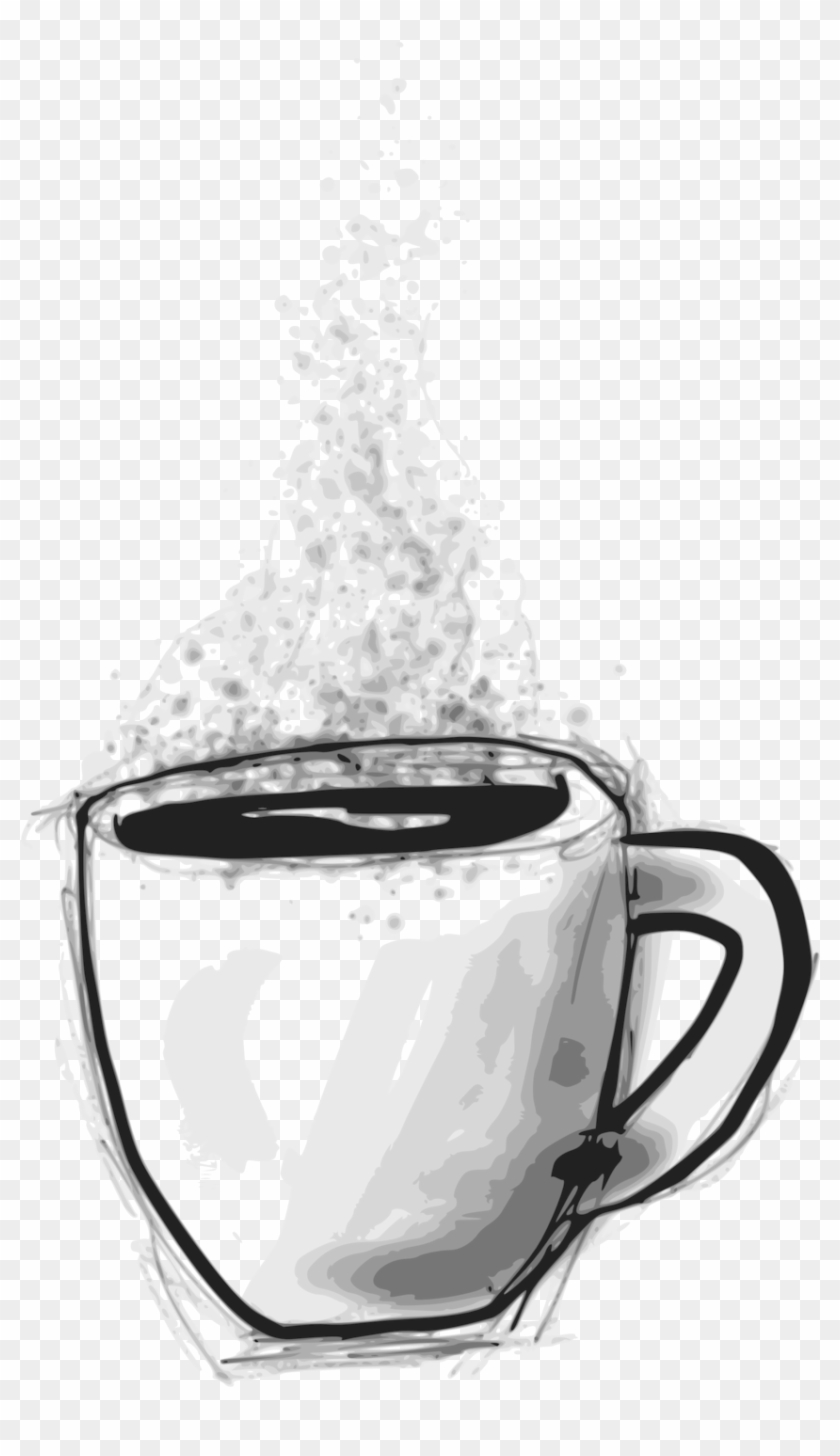 Sketchy Coffee - Scalable Vector Graphics #194863