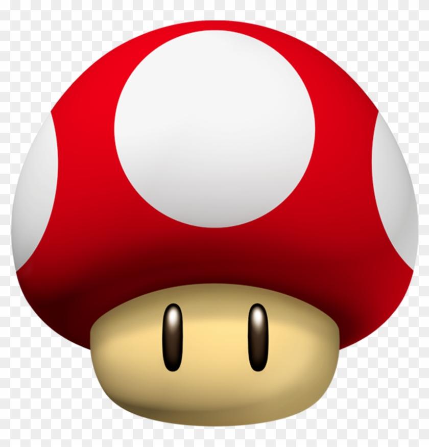 New Super Mario Bros - Mario Power Up Mushroom #194870